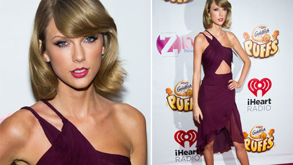Taylor Swift en el photocall del Z100 Jingle Ball