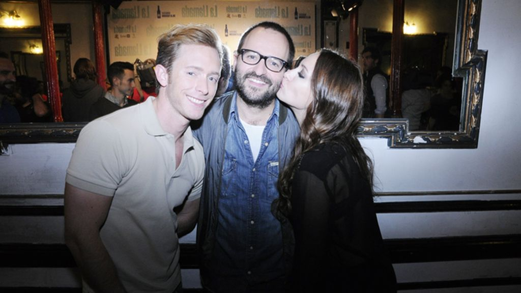Pablo Rivero, Fernando González Molina y Natalia Verbeke