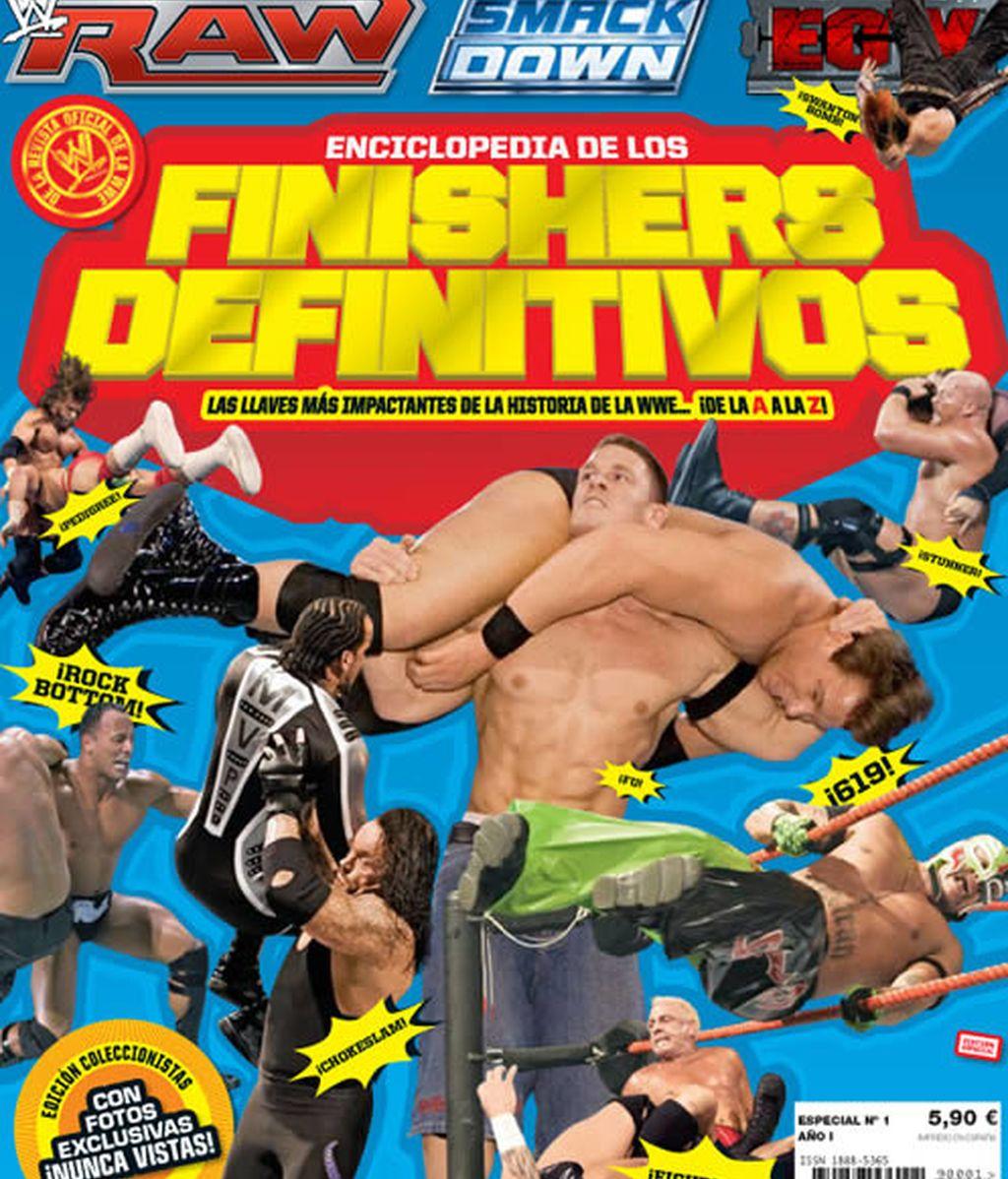 WWE Magazine: Especial Finishers