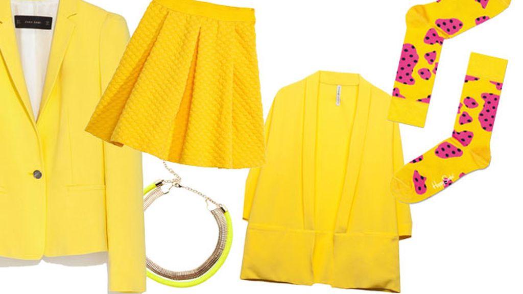 Radiante primavera: cómo usar el color amarillo