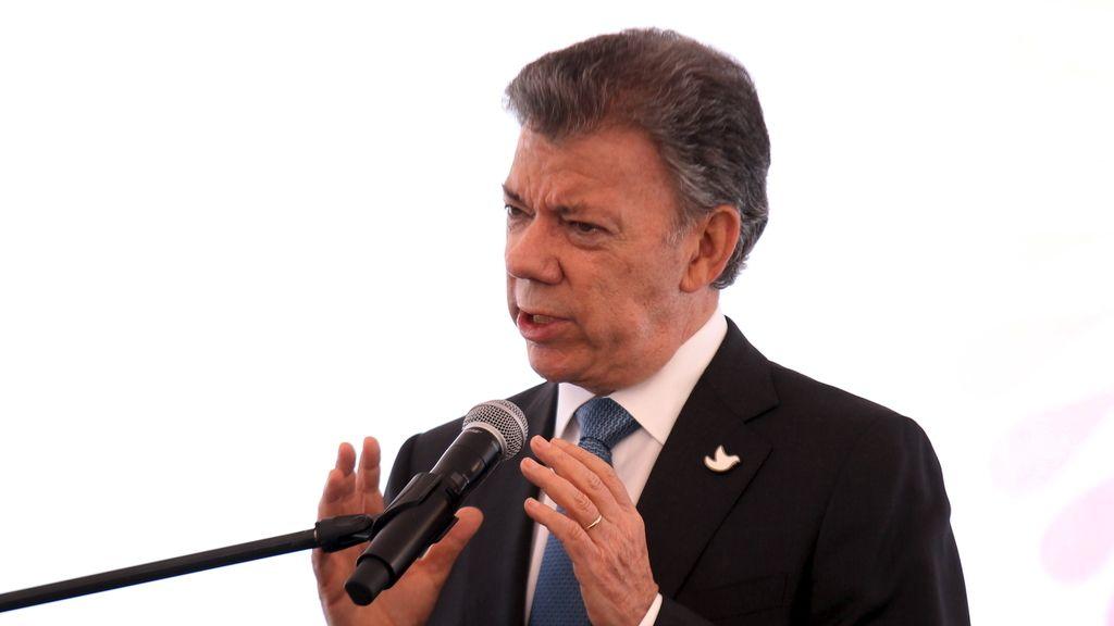 """Santos da un ultimátum a las FARC: """"Se agotó el tiempo, hay que tomar decisiones """""""