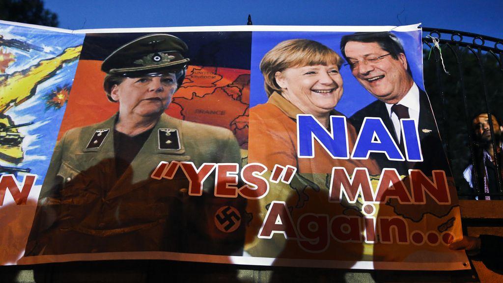 La 'germanofobia' se extiende en el sur de Europa y causa estupor en Alemania