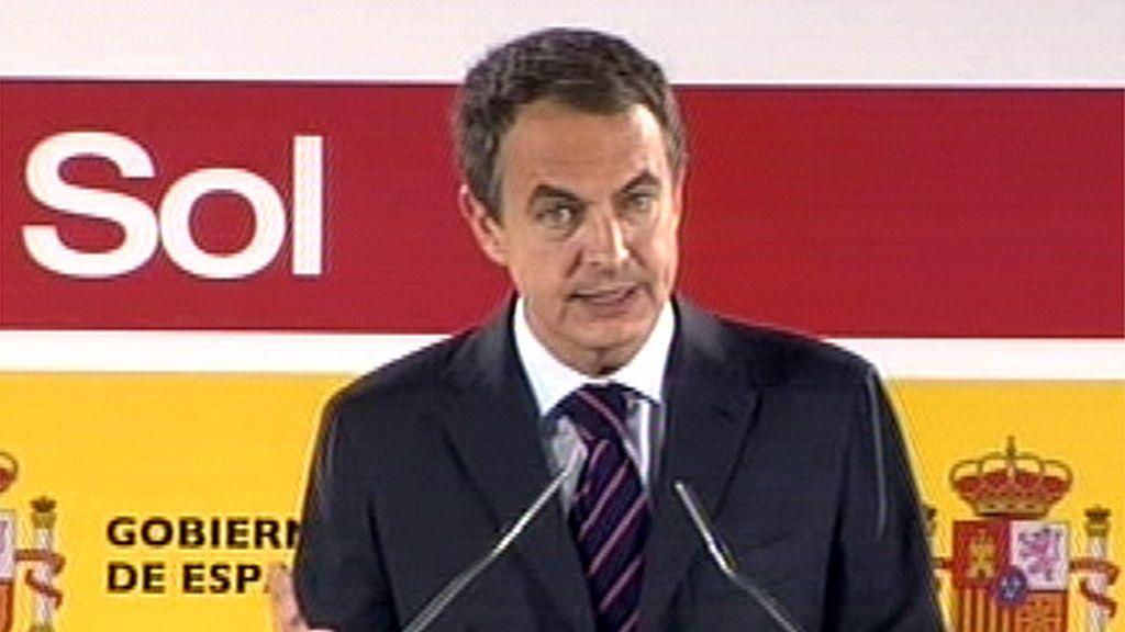 El presidente del Gobierno en la inauguración de la estación de Sol