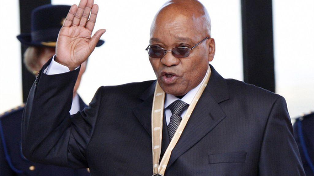 Jacob Zuma, jurando su cargo