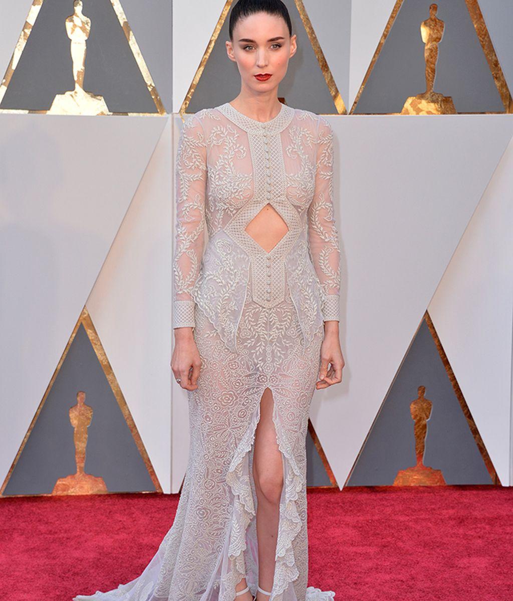 Rooney Mara vestida de Givenchy