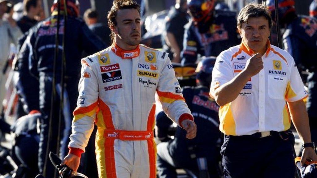 """Alonso: """"Los Brawn están en otro mundo"""""""