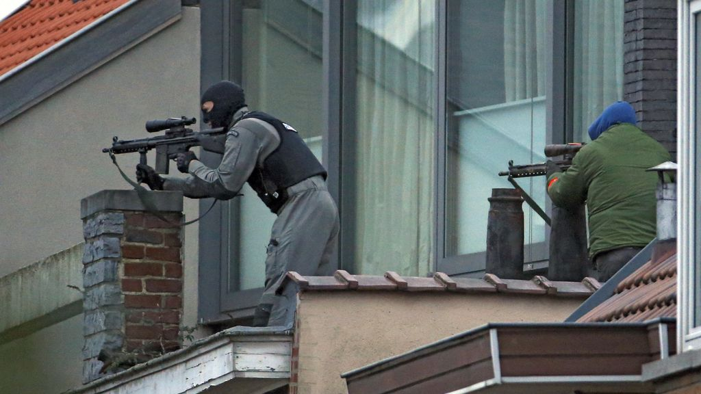 Redada antiterrorista en Bruselas