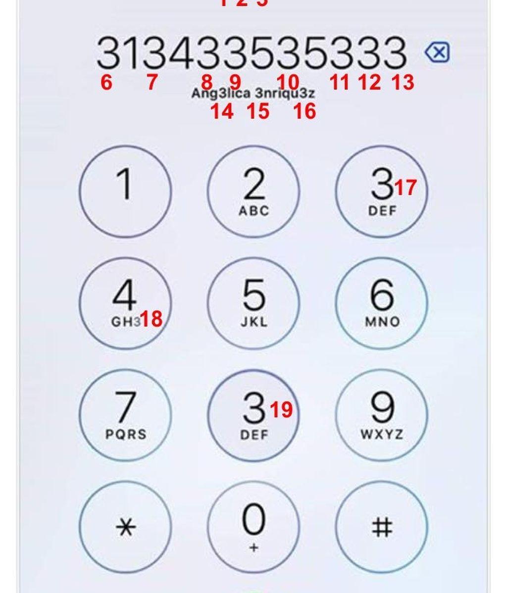 Solución del acertijo de los números