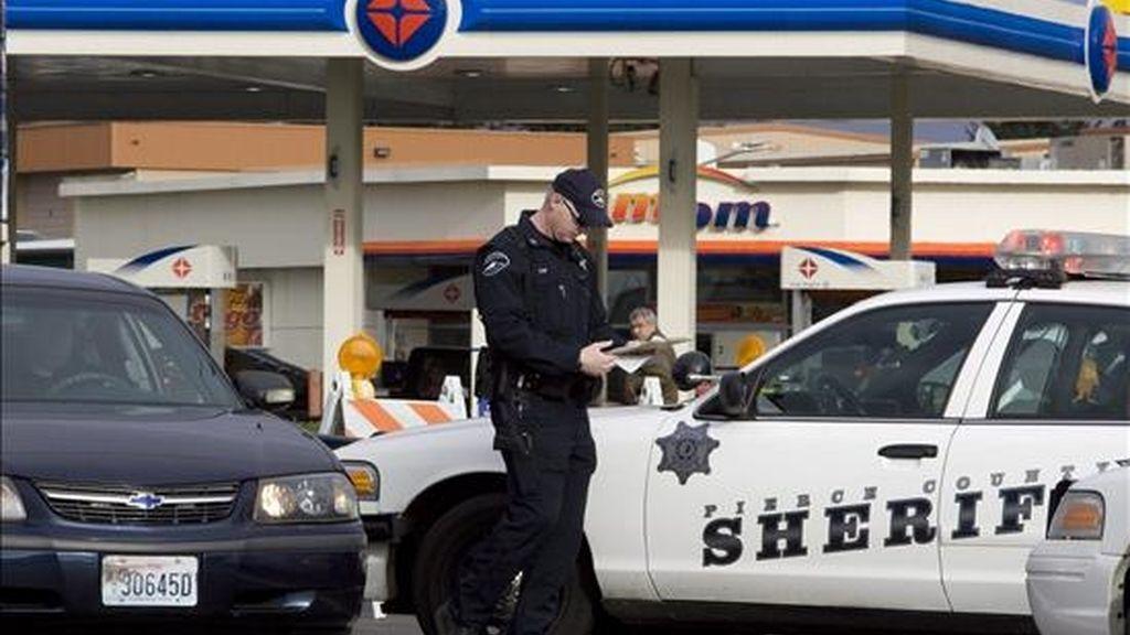 Cuatro policías asesinados. Vídeo: Informativos Telecinco