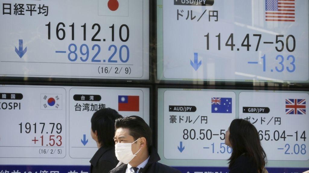 La bolsa de tokio también se desploma