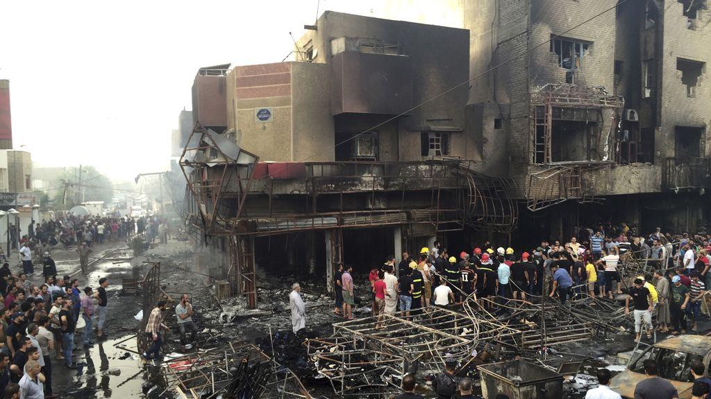 Dos atentados en Bagdag