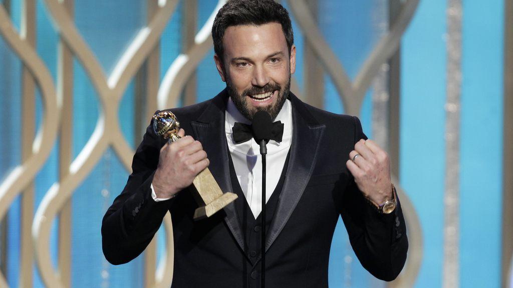 'Argo' y Ben Affleck se coronan en los Globos de Oro