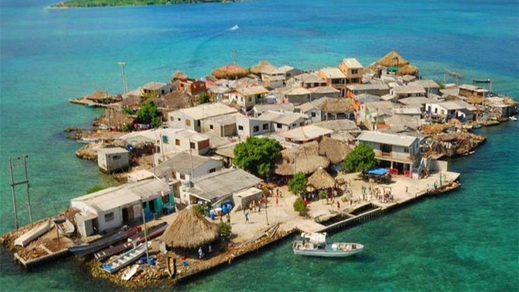 Santa Cruz del Islote, la isla más poblada de la tierra