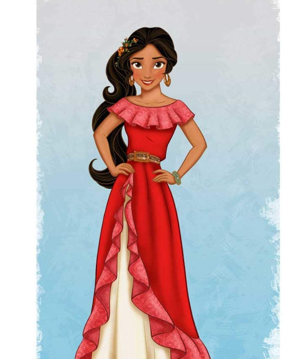 Así es Elena, la primera princesa latina de Disney