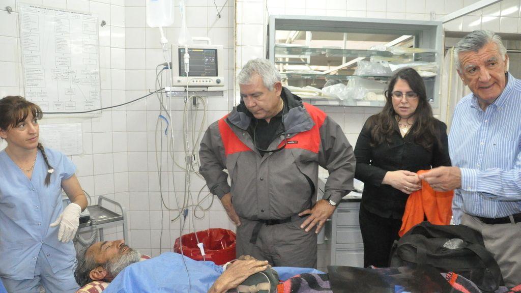 Raúl Fernando Gómez Cincunegui encontrado vivo después de 4 meses desaparecido en los Andes