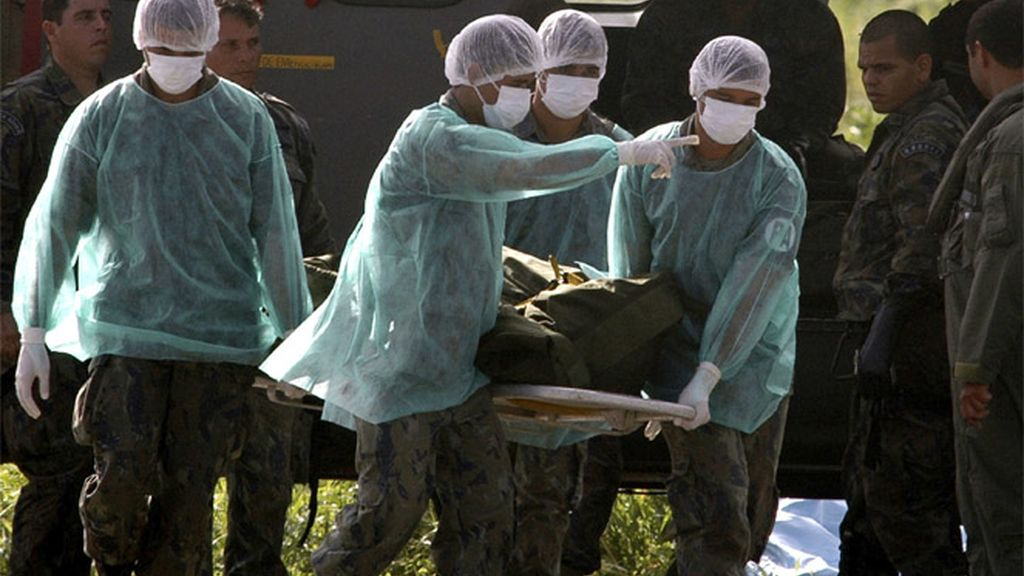 Identificando cadáveres