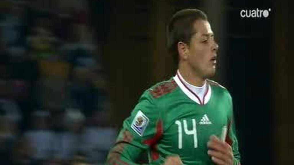Chicharrito marca un golazo para México (Argentina 3 - 1 México min.25)