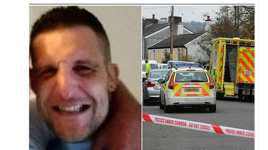 Matthew Williams,caníbal,policía mata a caníbal,caníbal en Gales
