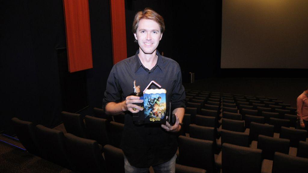 """Manuel Velasco, un incondicional del cine fantástico y de terror, no podía faltar al estreno de """"Las brujas de Zugarramurdi"""""""