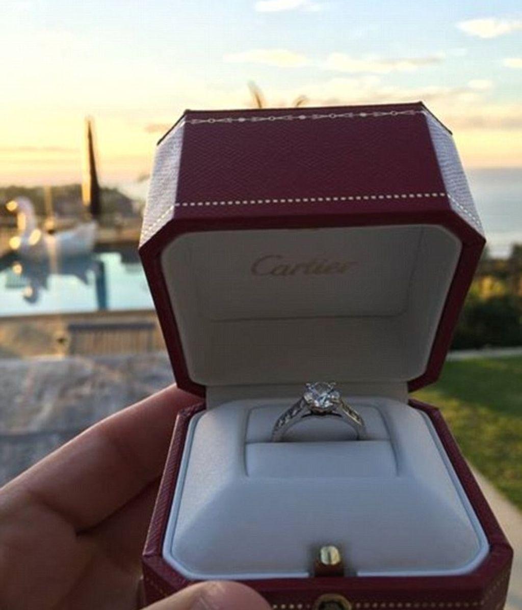 Anillo compromiso Cartier