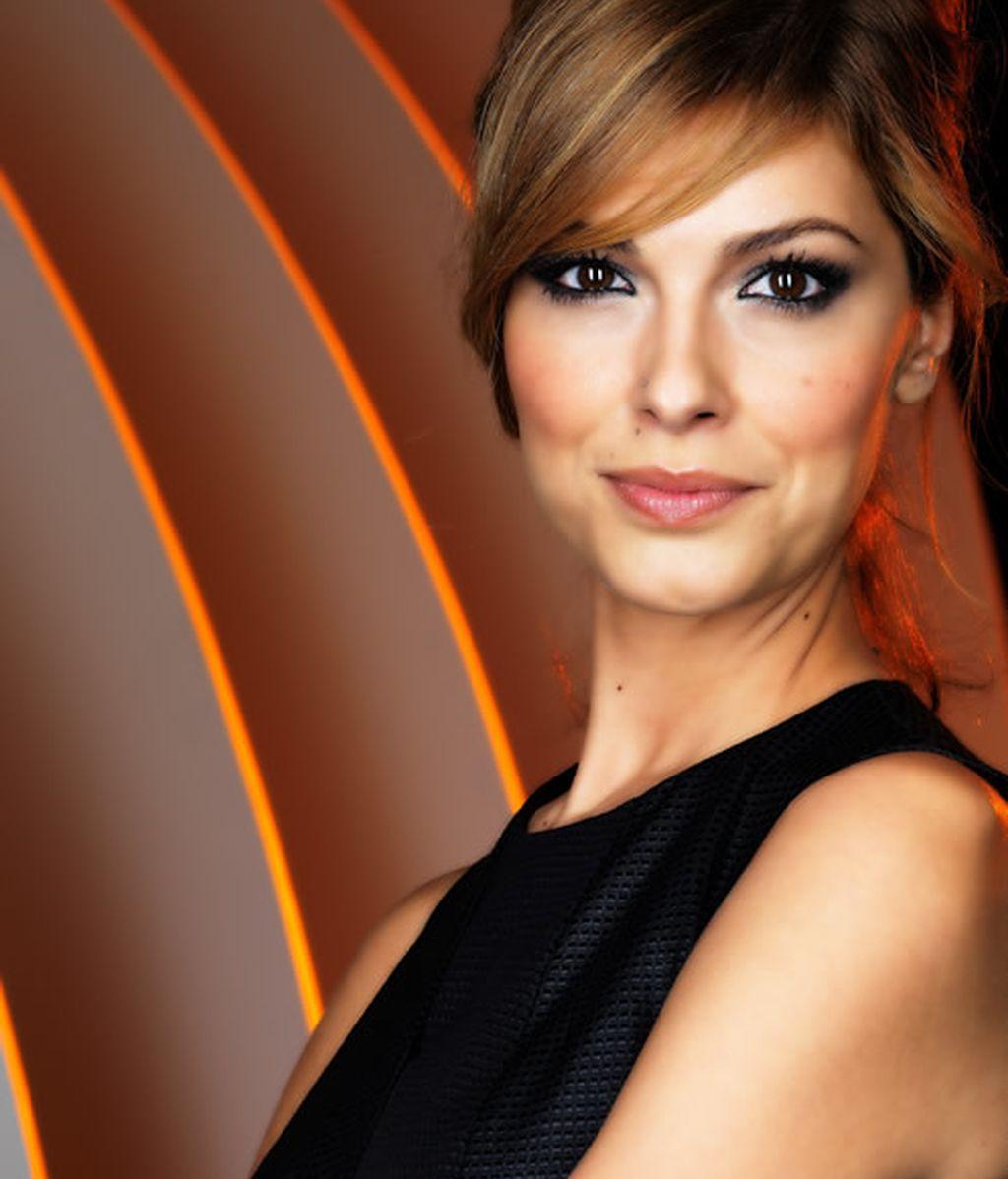 Cristina Urgel, presentadora de  Vaya Tropa
