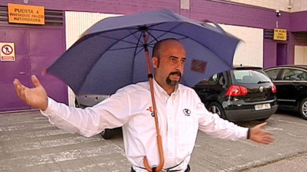 Paraguas sin manos