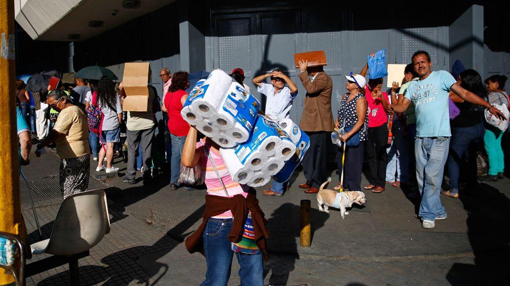 """La Asamblea Nacional declara la """"emergencia alimentaria"""" en Venezuela"""