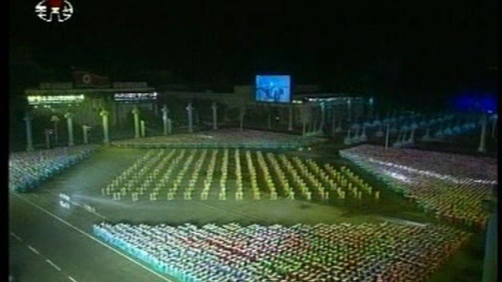 Espectacular desfile en Corea del Norte
