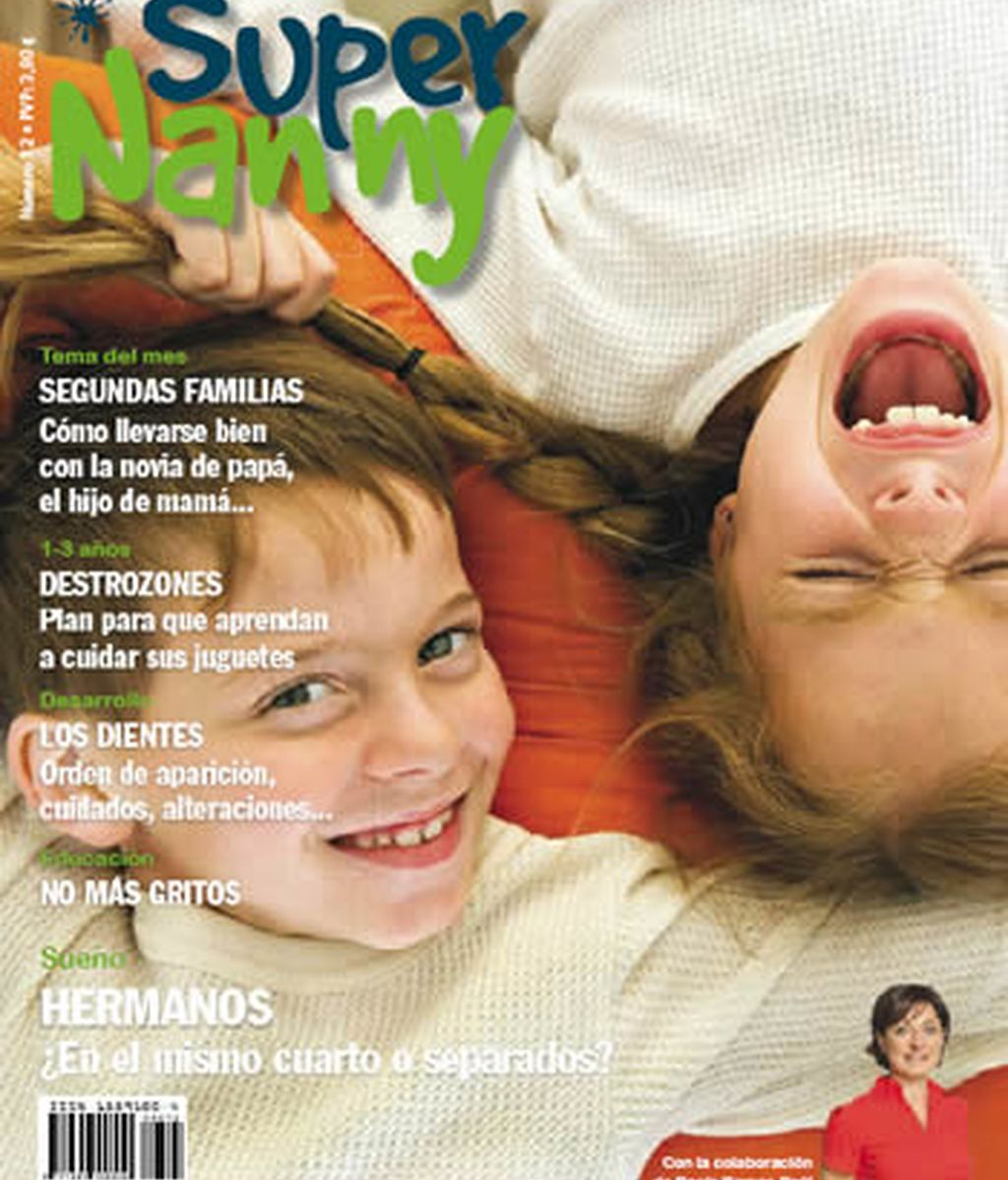 Portada enero revista Supernanny
