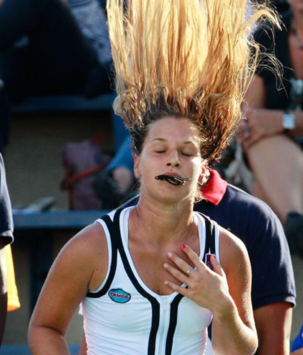 El US Open se juega con el pelo alborotado