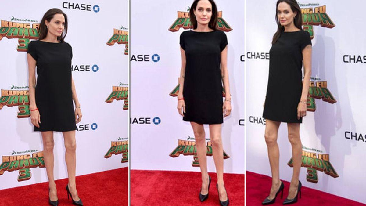 La delgadez extrema de Angelina Jolie