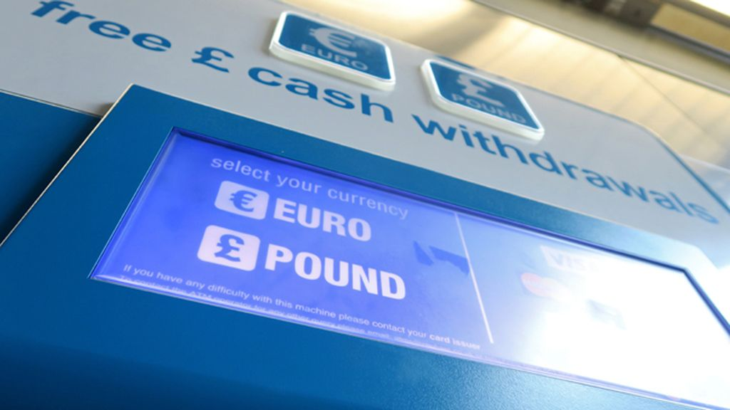Cambio libra esterlina euro