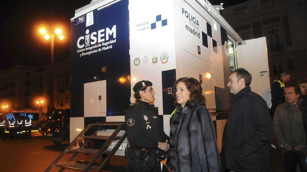 Botella supervisa y dirige el despliegue del operativo de limpieza en Madrid