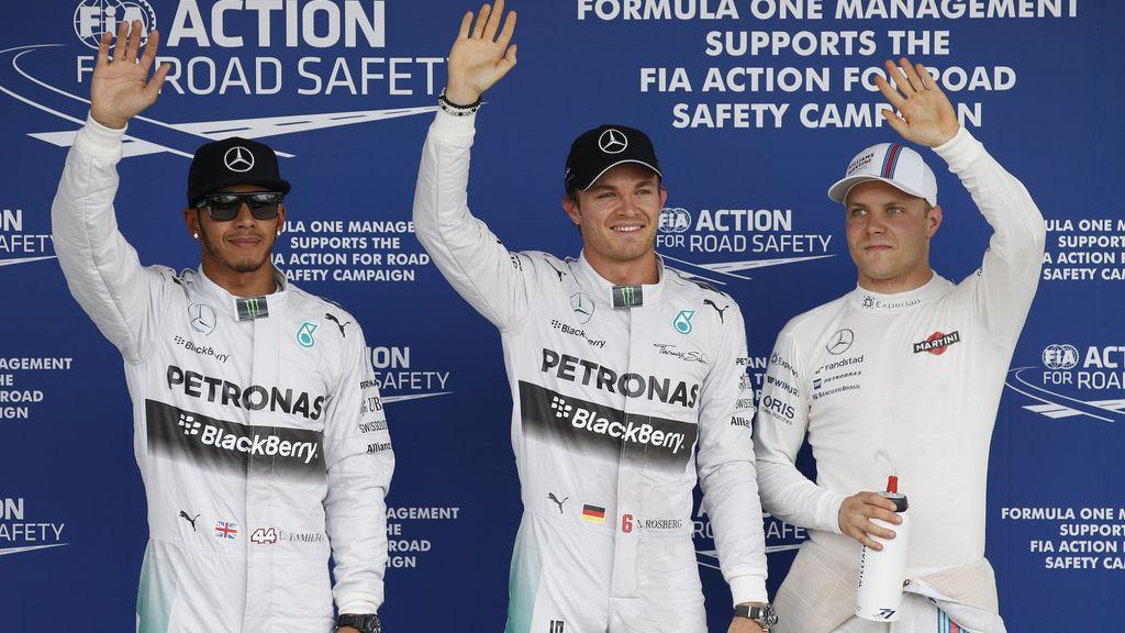 Rosberg firma la pole en Suzuka