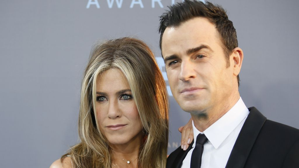 Jennifer Aniston y Justin Theroux, en los Critics' Choice Awarads