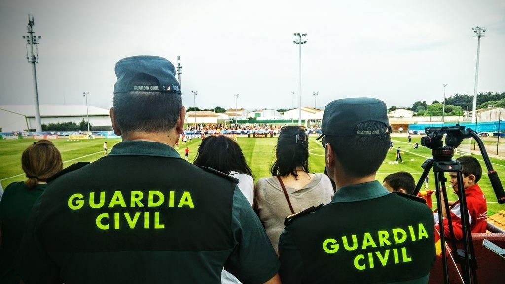 La Roja, Eurocopa 2016, Guardia Civil