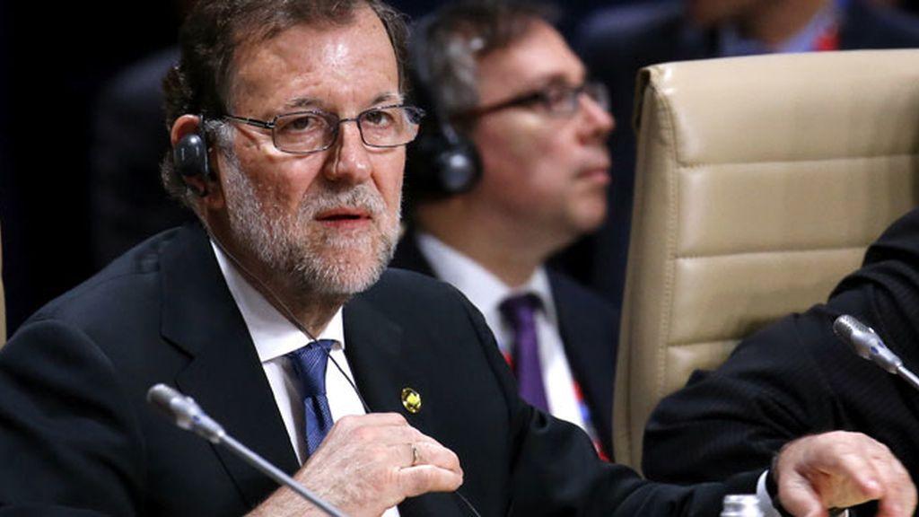 Mariano Rajoy en la cumbre de la OTAN