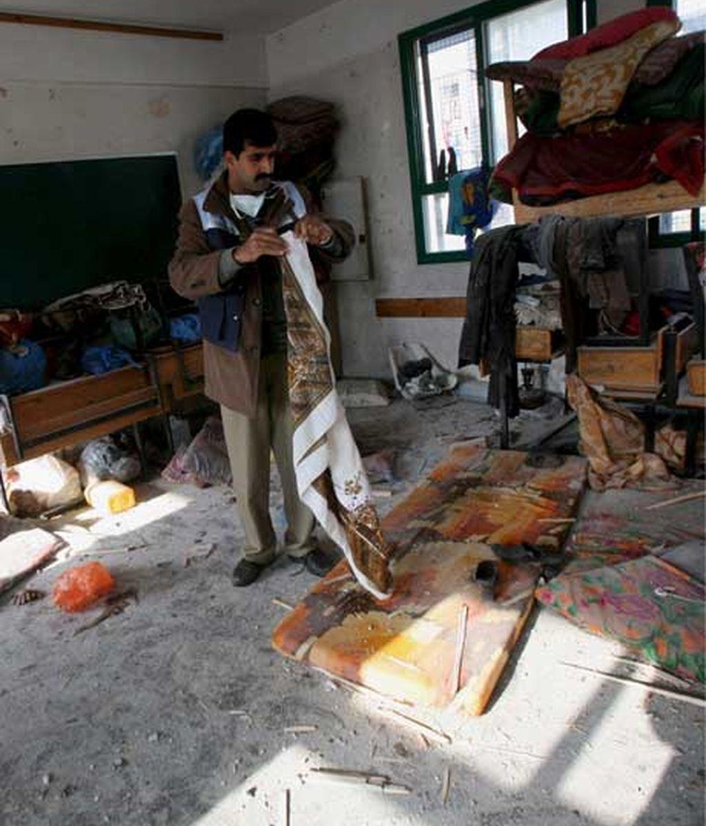 Ataque israelí a una escuela de la ONU