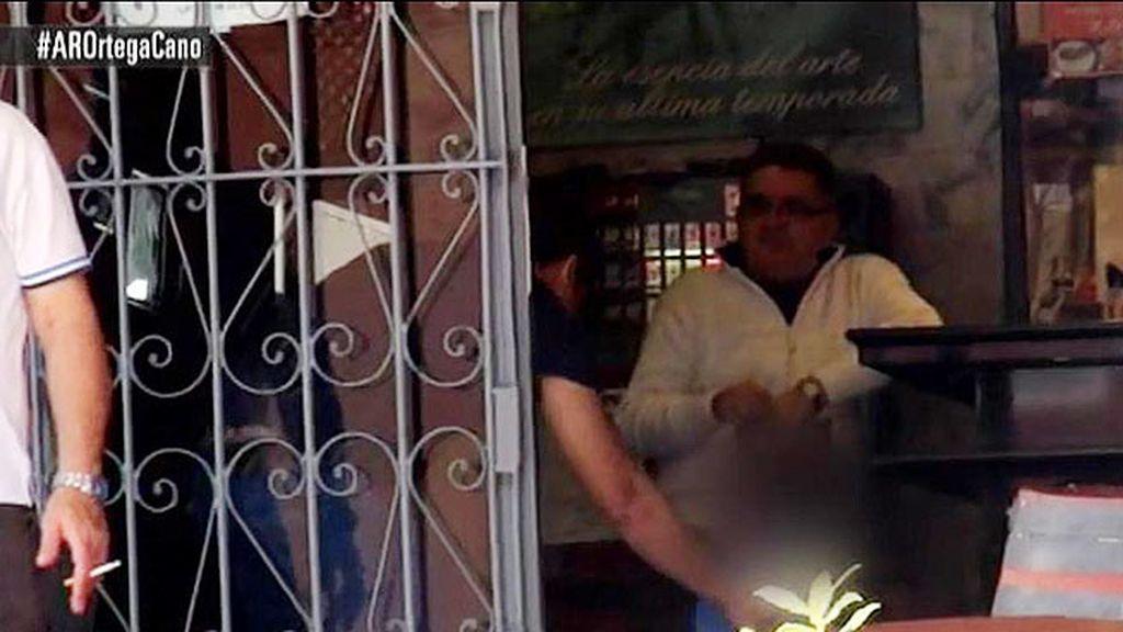 La familia se reunió en el restaurante de Paco Ortega