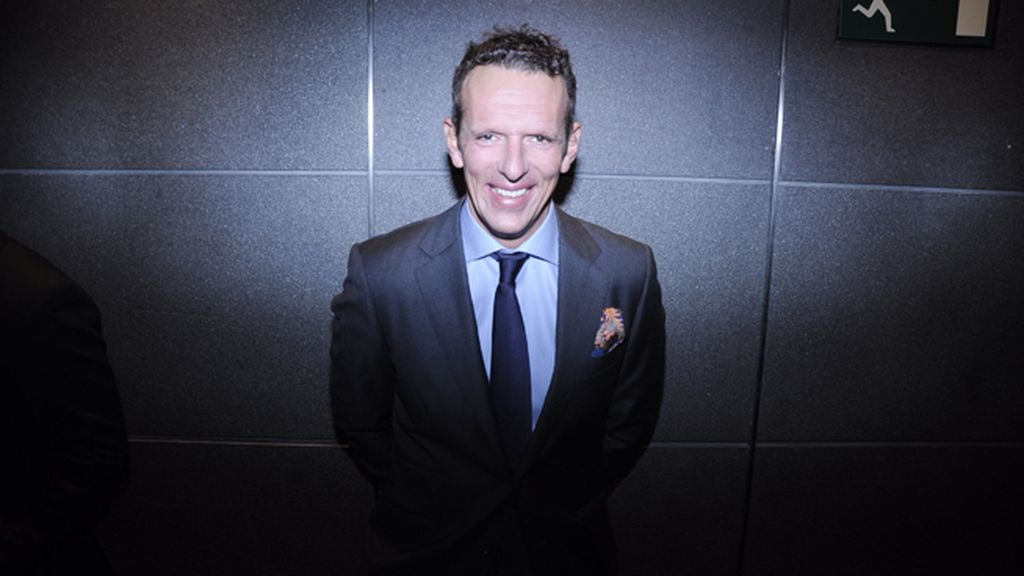 El presentador Joaquín Prat a su llegada al Hotel Eurostars