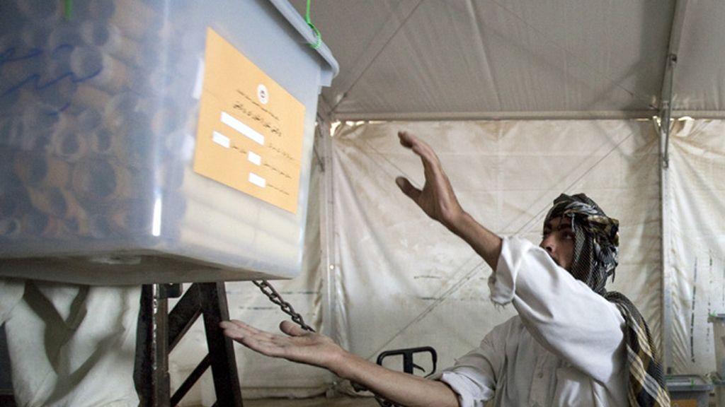 Recuento electoral en Afganistán