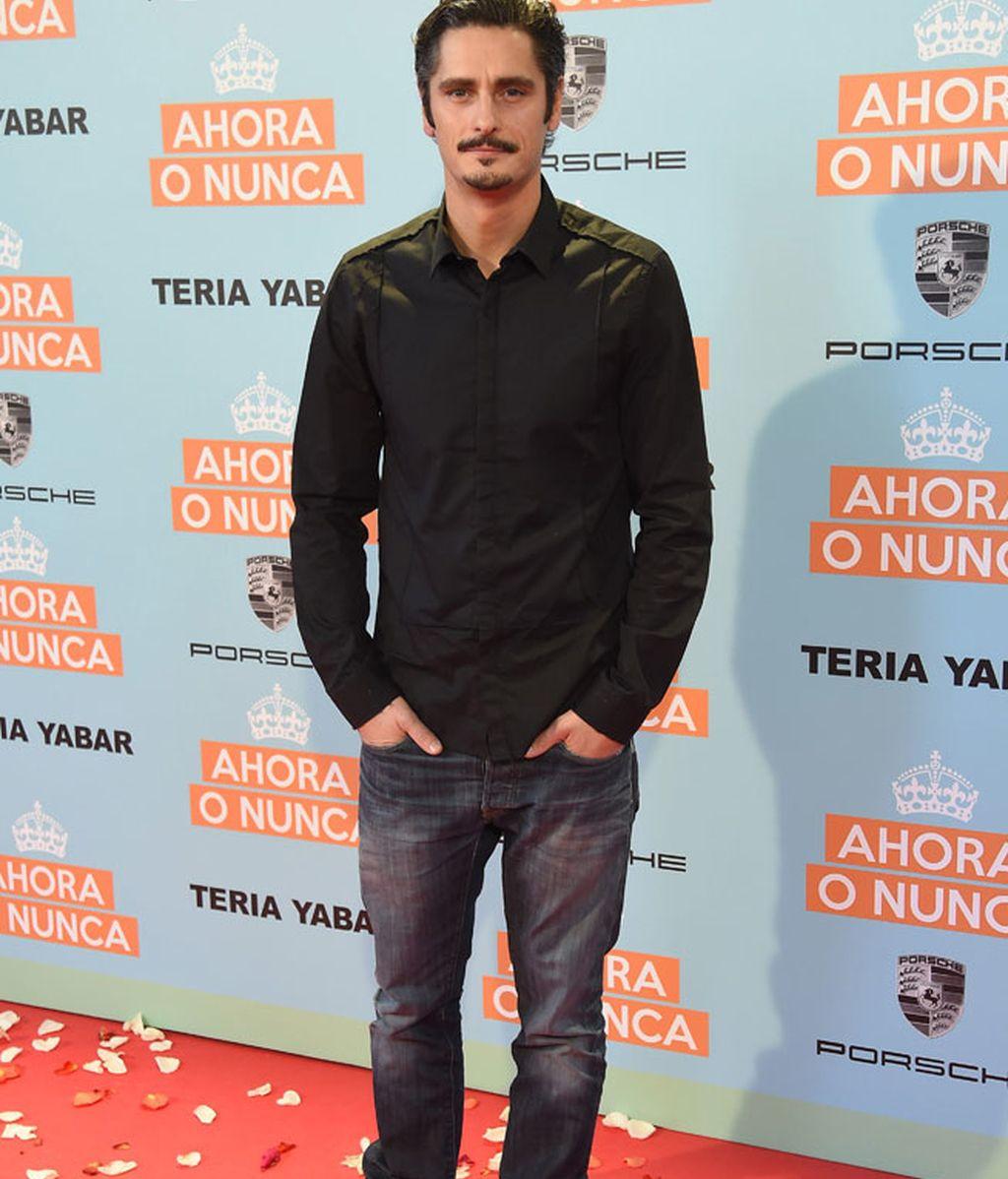 Antonio Pagudo, de riguroso negro