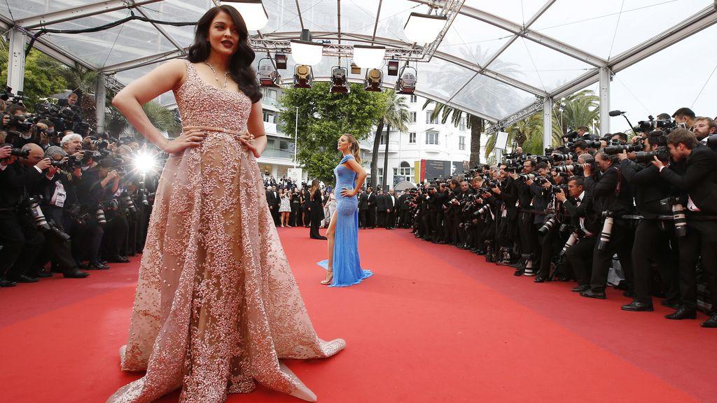 Aishwarya Ra en la alfombra roja de Cannes