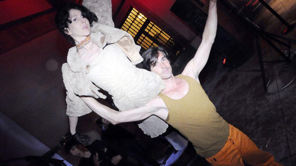 Rossy de Palma ejerce de dj rodeada de amigas