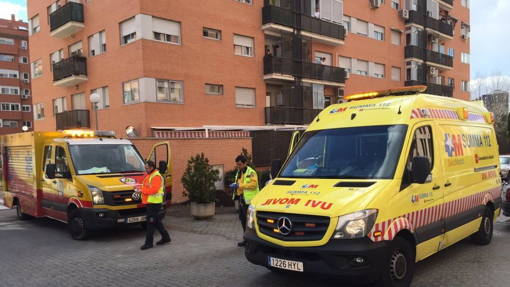 Un tiroteo en Madrid deja tres heridos de bala, uno de ellos graves, y un apuñalado