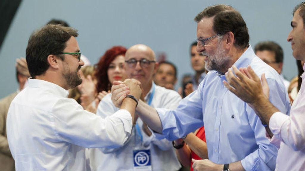 Mariano Rajoy y Asier Antona
