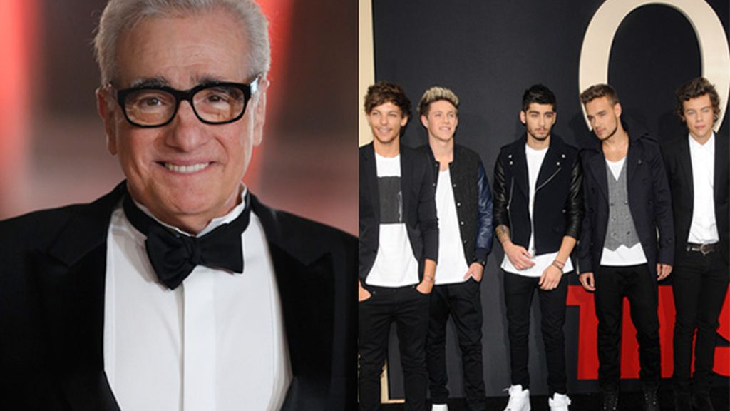 Scorsese quiere colaborar con One Direction