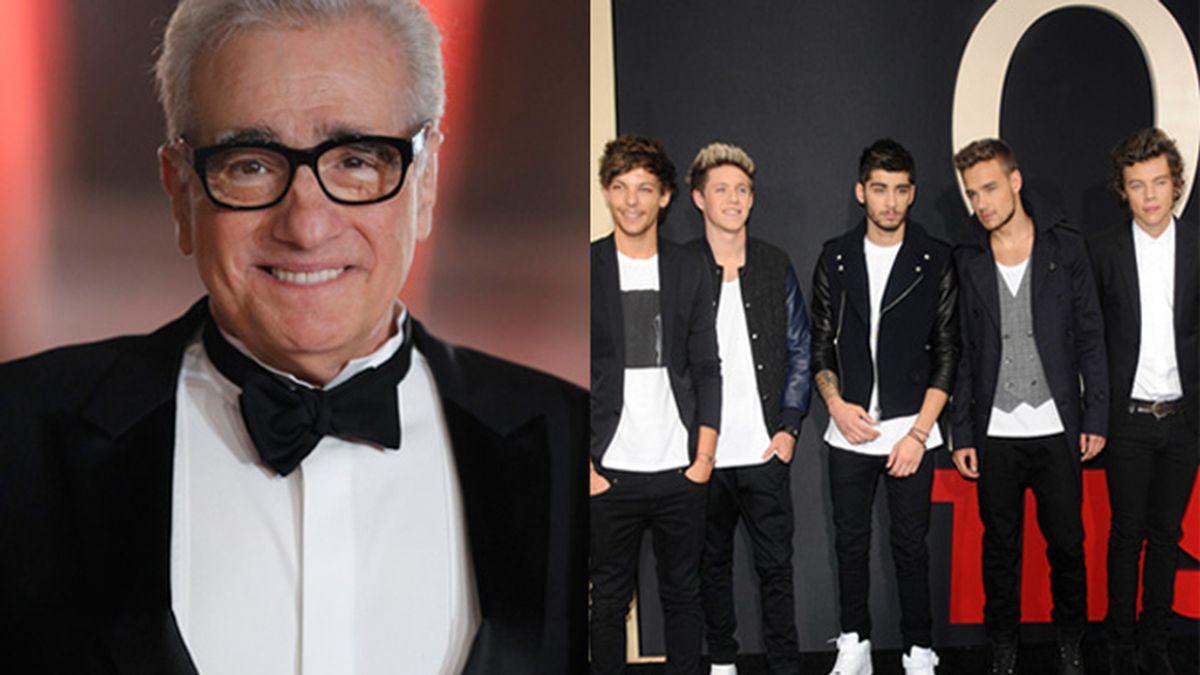 Scorsese quiere colaborar con One Direction