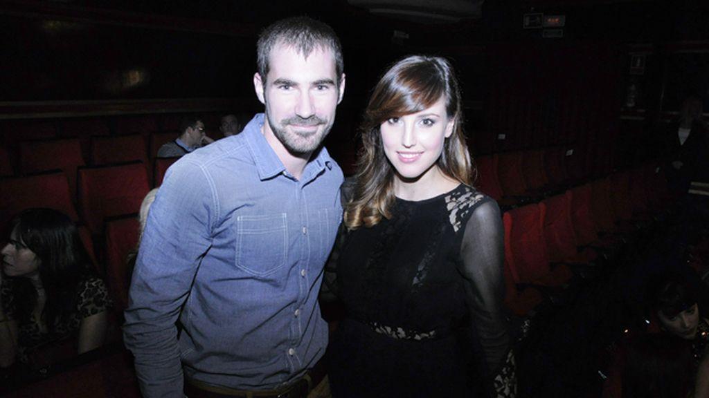 """Los actores José Sospedra y Natalia de Molina, que protagoniza la nueva peli de David Trueba """"Vivir es fácil"""""""