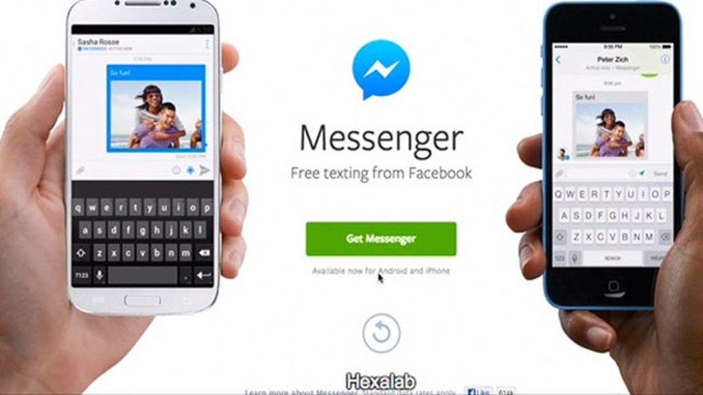 Facebook lanza una aplicación de mensajería para competir con WhatsApp y Viber